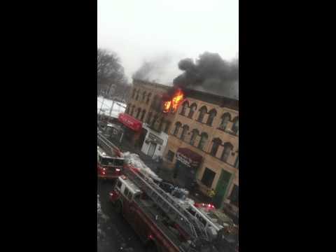 Brooklyn, Bushwick Fire (Part 1 of 2)