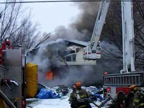 Darien (NY) House Fire