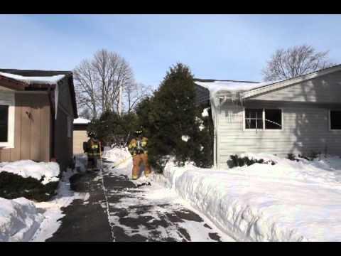 Wheeling (IL) Dryer Fire, House Fire