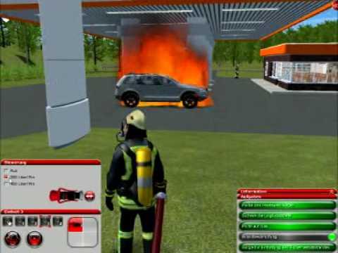 Feuerwehr Simulator 2010: Tankstelle