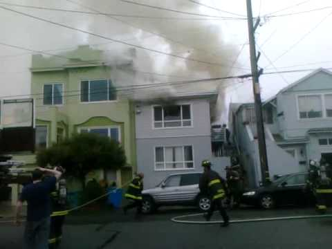 Early Operations at San Francisco Apartment Fire