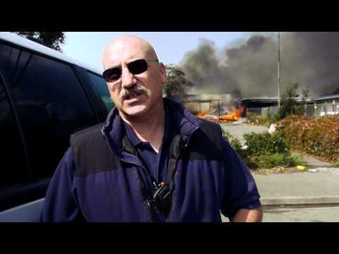 Vallejo (CA) Vacant Car Dealership Fire