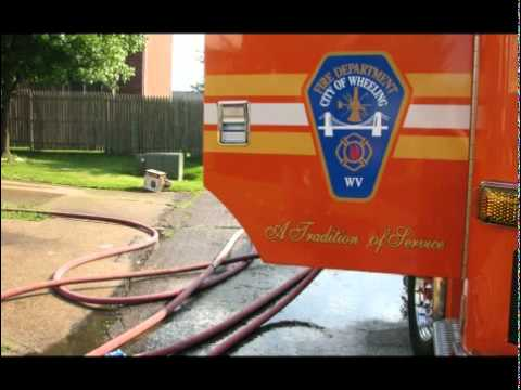 Wheeling (WV) Structure Fire with Trapped Occupant