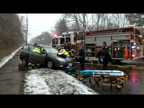 Brighton NY MVA Person Trapped 3/11/11
