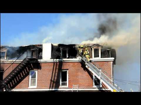 WHITEHALL 4TH ALARM FATAL FIRE 10-9-11