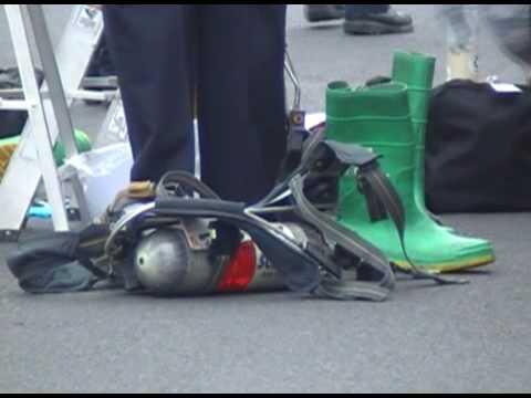 Sacramento Fire Metro HAZMAT response to call of suspicious substance