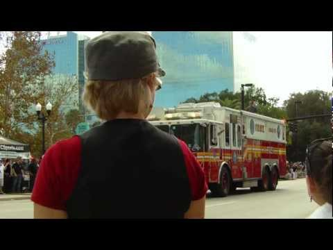 Fresh From Florida Parade 2011: Remembrance Rescue Project - Tribute to FDNY lost on 9/11