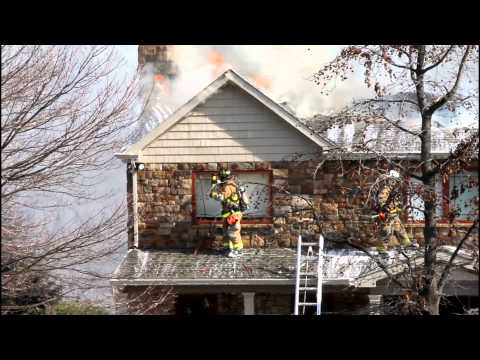 LOWER SAUCON 3RD ALARM DWELLING FIRE 2-10-12