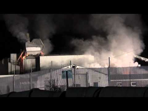 CHALFONT 3RD ALARM BUILDING FIRE 2-15-12
