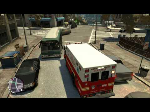 Liberty City Fire Dept. Hazardous Materials Company 6 Responding to gas leak