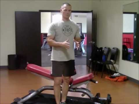 Firefighter Fitness Exercise Upgrade-Alternate arm DB chest press