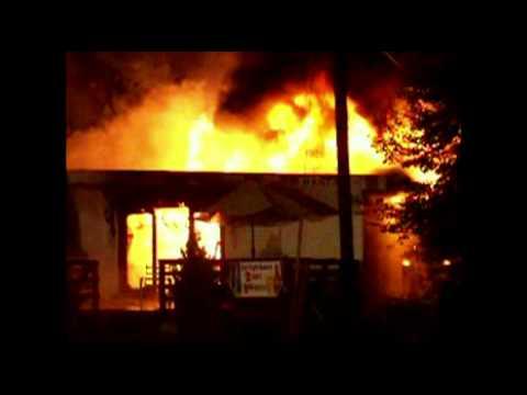 Restaurant / Hotel burns in the Poconos, PA