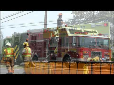 SPRINGFIELD TWP. NJ 2ND ALARM BARN FIRE 7-11-12