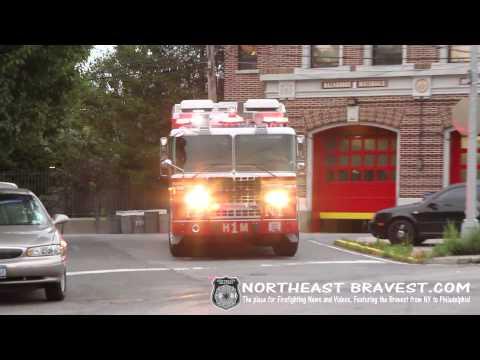 FDNY | ELIZABETH FIRE | NEWARK FIRE | RESPONSE VIDEOS