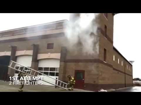 Firefighter Baby Catch Training