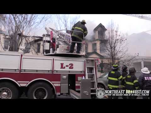 EAST ORANGE, NJ 3RD ALARM FATAL FIRE