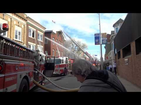 Hackensack, NJ 3 alarm fire 76 Main St