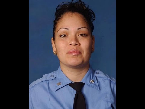 FDNY ESCORT & FUNERAL PROCESSION FOR FDNY EMT YADIRA ARROYO LEAVING FUNERAL HOME FOR HER MASS.