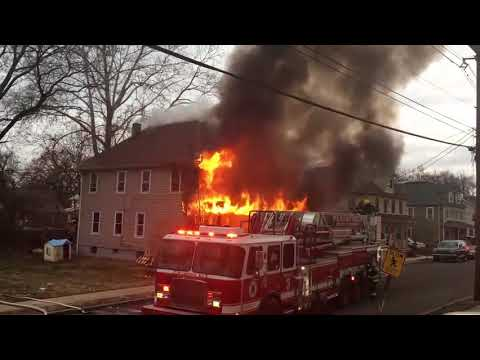 Plainfield, NJ Structure Fire