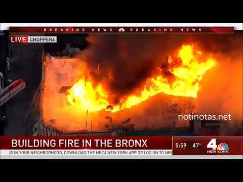 Building Fire in the Bronx