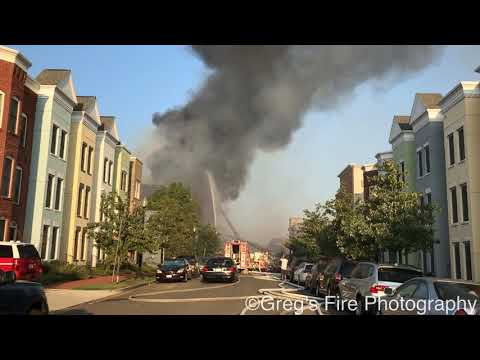 Washington, D.C. Four-Alarm Fire