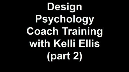 Design Psychology Coaching Certification