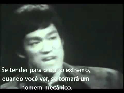 Empty your mind, be water Bruce Lee Legendado