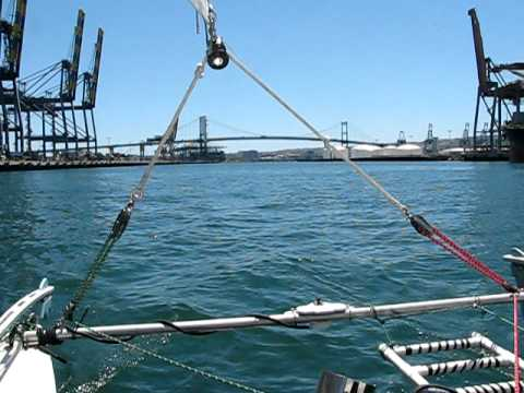 Mainsheet strop with double mainsheets