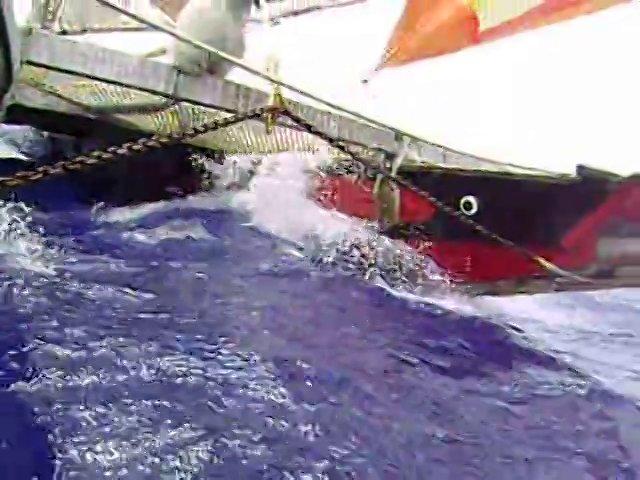 ontong java sailing to  new zealand