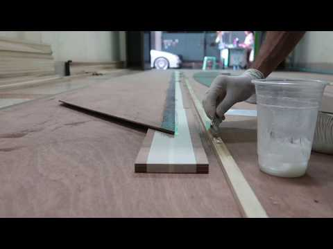 Fixing the sheer stringer to the side panels - Wharram Hitia 14 Ep.17