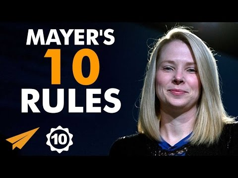 Marissa Mayer's Top 10 Rules For Success
