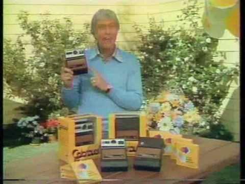 1978 Dick Van Dyke Kodak Colorburst Instant Camera Commercial