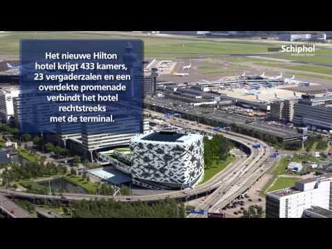 Duurzaamheid speelt grote rol bij bouw nieuw Hilton op Schiphol.