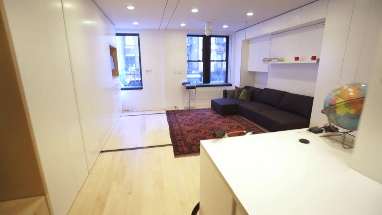 Hoe verwerk je een volledig huis met 8 kamers in 39 m2?