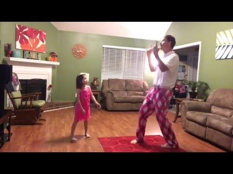 """Daddy/Daughter Dance to """"Can't Stop The Feeling!"""" @jtimberlake"""