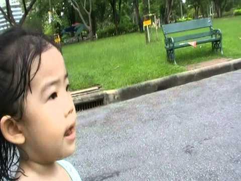 Noey went to Lumpini park