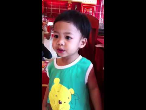 Phonic song by Kubkhun @ 2 years.