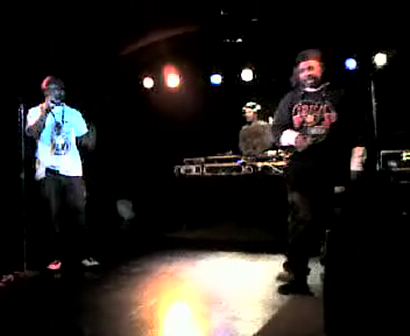 """M.C. WAR FLATTOP"" AT THE ""LYRICAL FUSION SOUTHPAW"" VIDEO TAPEING THA SHOW Pt.19"