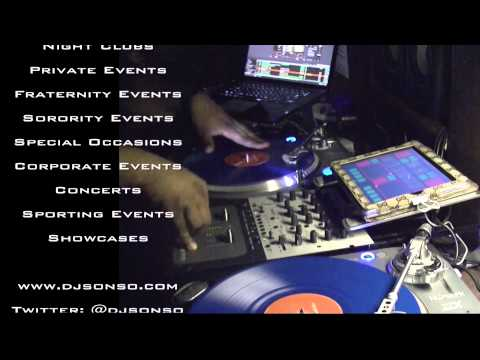 DJ So-N-So Live Promo - Spin Wax Academy