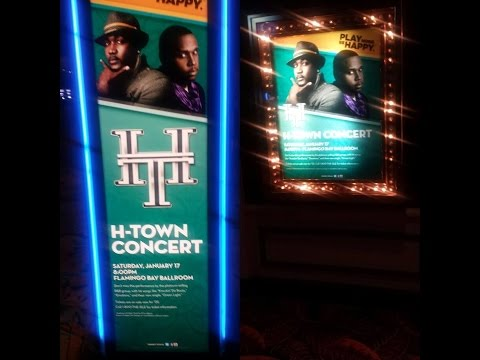 H-TOWN LIVE SOLD OUT SHOW @ ISLE OF CAPRI CASINO LULA,MS JAN. 2015