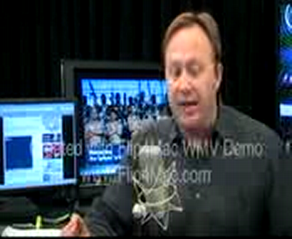 12160.org Member Massanova's Video Highlighted on the Alex Jones Show 11 03 09 re: Artificial scarcity and the anatomy of the 2009 swine flu pandemic