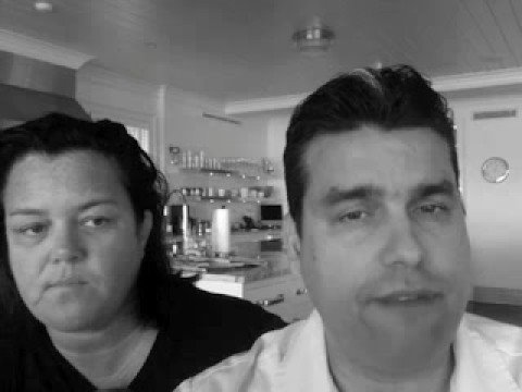 William Rodriguez and Rosie O'Donnell