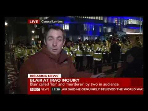 Chilcot Iraq Inquiry- Various Responses To Tony Blair's Evidence