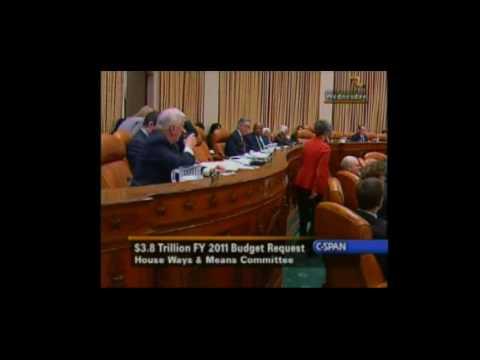 2011 U.S. Fiscal Budget Proposal -Questioning Tim Geithner