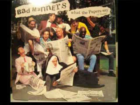 Bad Manners- What The Papers Say 1985