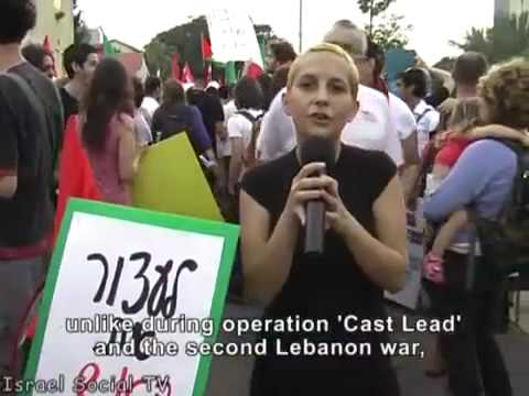 CENSORED Mainstreem Media - Israelis Demonstrate Against Facism Gaza Aid Boat Ship Flotilla