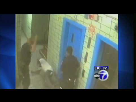 NY Police beat returning soldier visiting his mother