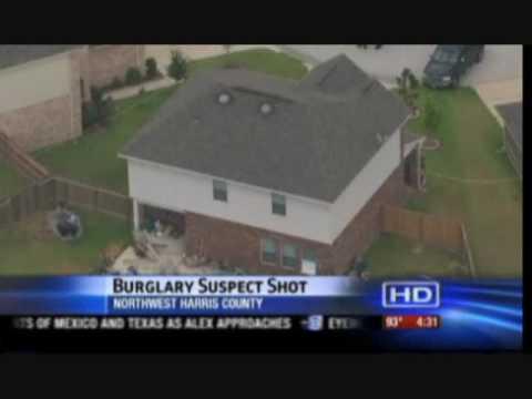 Texas 15 year old defends self, sister; shoots burglar