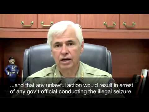 First Signs of Civil War begin in the US: Sheriff Tony DeMeo Threatens Force Against Federal Agents