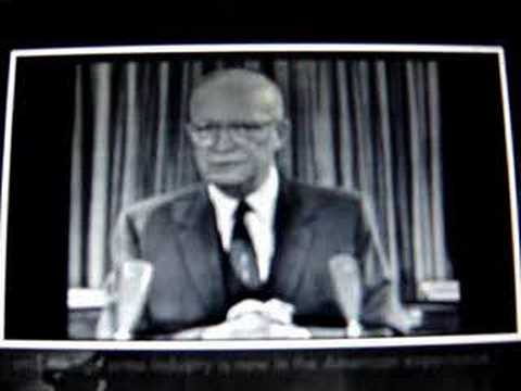 1961 - Eisenhower warns us of the military industrial complex